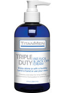 Titanmen Triple Duty Fist, Fuck And Jack Off Cream 8 Ounce...