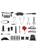 Lux Fetish Bondage In A Box 20pc Bedspreader Set Deluxe